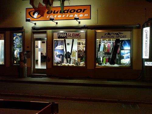 Der neue Outdoor Winter Shop